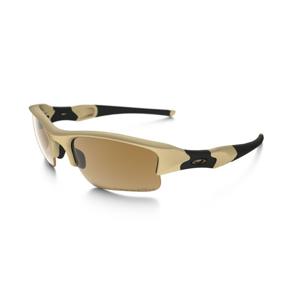 Oakley Men FLAK JACKET® POLARIZED STANDARD ISSUE 53-100 On Sale