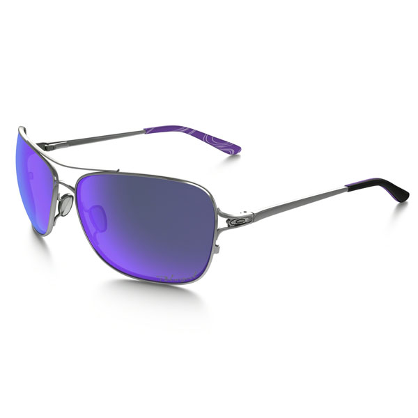 Oakley Women CONQUEST™ POLARIZED VIOLET HAZE COLLECTION OO4101-07 On Sale