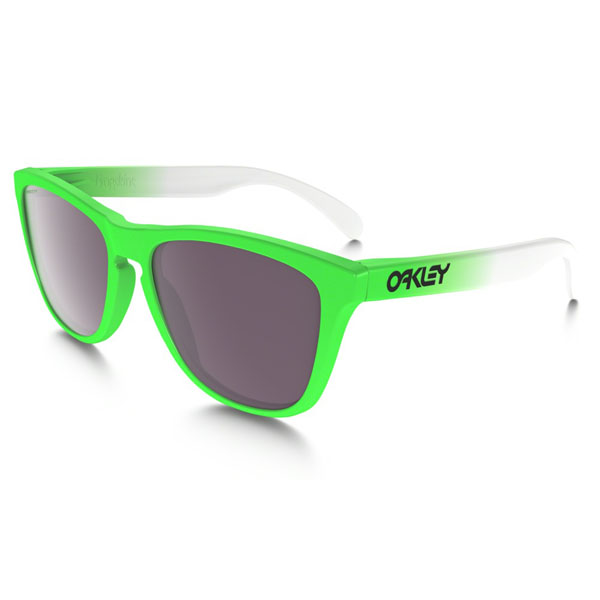 Oakley Men FROGSKINS® PRIZM™ DAILY POLARIZED GREEN FADE EDITION OO9013-99 On Sale