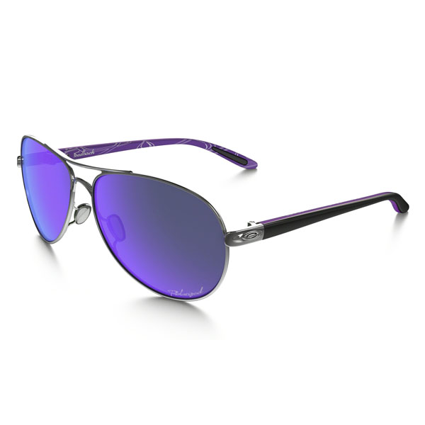 Oakley Women FEEDBACK™ POLARIZED VIOLET HAZE COLLECTION OO4079-23 On Sale
